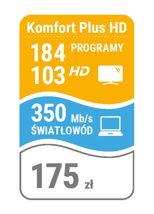 pakiet telewizja + internet 350