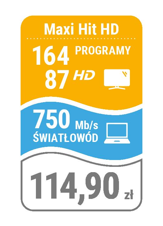 pakiet telewizja + internet 750