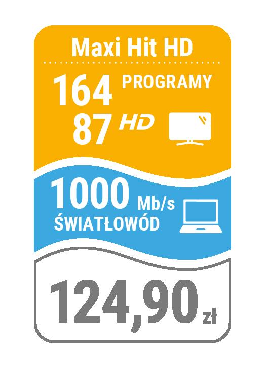 pakiet telewizja + internet 1000